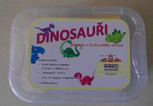 Dinosauøi - pexeso z bukového døeva