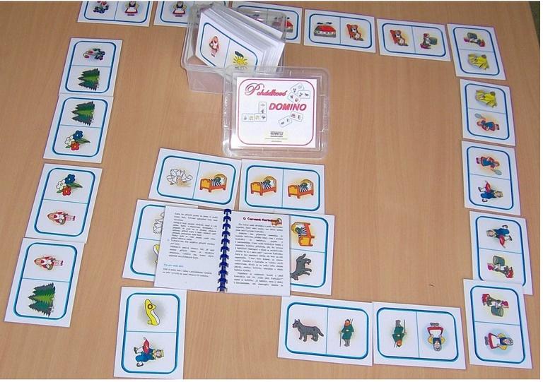 Pohádkové domino - zvìtšit obrázek
