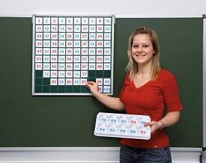 Magnetická stovková tabule - zvìtšit obrázek
